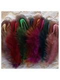 10 шт. Микс цвет. Фазан цветное перо 4-7 см.