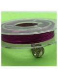 0.3 мм.10 м. Фиолетовый цвет. Проволочка для рукоделия