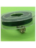 0.3 мм. 10 м. Зеленый цвет. Проволочка для рукоделия