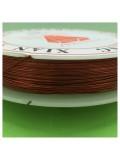 0.3 мм. 50 м. Оранжевый цвет. Проволочка для рукоделия