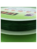 0.3 мм. 50 м. Зеленый цвет. Проволочка для рукоделия