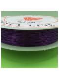 0.5 мм. 25 м. Фиолетовый цвет. Проволочка для рукоделия