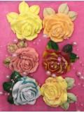 Роза маленькая. Фигурное мыло ручной работы. № 28