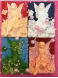 Фея в цветке. Фигурное мыло ручной работы № 9