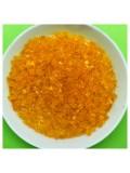 50 гр. Оранжевый прозрачный цвет. Стеклярус. № 11