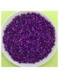 50 гр. Темно-фиолетовый цвет. Стеклярус. № 47
