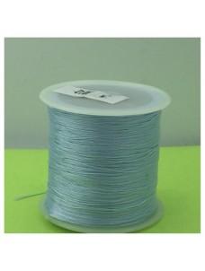№ 3. Голубой цвет. Нить для плетения