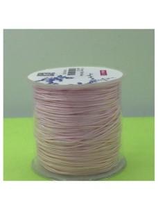 100 м. Бледно-розовый цвет. Нить для плетения Шамбала