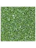 № 4. Зеленый хамелеон цвет. Бусинки клеевые. 10000 шт. № 11