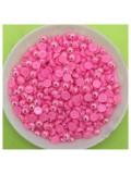№ 4. Розовый хамелеон цвет. Бусинки клеевые. 500 шт. № 6
