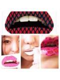 014. Многоцветные губы. Наклейки