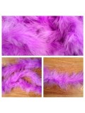 Сиреневый цвет. Боа тесьма из пуха марабу 4-5 см