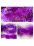 Фиолетовый цвет. Боа тесьма из пуха марабу 4-5 см