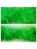 Зеленый цвет. Боа тесьма из пуха марабу 6-8 см