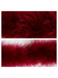 Бордо цвет. Боа тесьма из пуха марабу 6-8 см