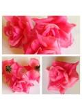 3113. Розовый цвет. Цветные головки роз 5 см