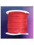 2 м. Бордо цвет. Лента капроновая цветная 1 см