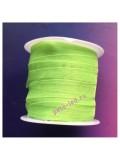 2 м. Салатовый цвет. Лента капроновая цветная 1 см
