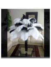 Перья птиц страуса 15-20 см