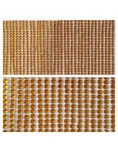 1 шт. Желтый цвет. Наклейки со стразами 4 мм. 9 х 12 см.