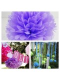 1 шт. Сиреневый цвет. Бумажные цветы. Пионы. Объем цветка 25 см
