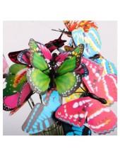 1 шт.  3D Бабочки на палочке 6 см. Для цветов и в торт