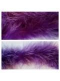Фиолетовый цвет. Боа тесьма из перьев марабу 6-8 см