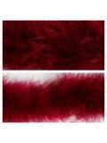 Бордо цвет. Боа тесьма из перьев марабу 6-8 см