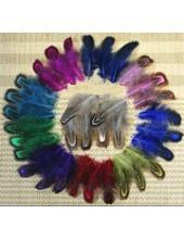 Фазан цветное перо 4-7 см
