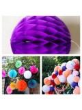 1 шт. Фиолетовый цвет. Фонарики цветные. Размер 10 см.