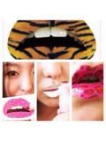 024. Многоцветные губы. Наклейки