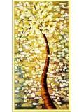 "Р-112. 5D Картина из страз. Дерево"" 88х50 см"