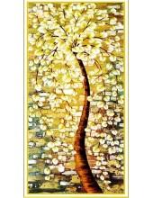 "Р-112. 5D Картина из страз. ""Дерево"" 88х50 см"