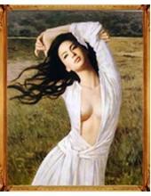 """У-601. 5D Картина из страз. """"Женщина"""" 60х70 см"""