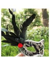 Г-1. Маски для праздника с перьями