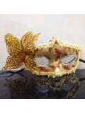 Ш-5. Желтый цвет. Маски для праздника с бабочкой