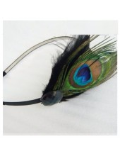 М-4. Павлин перья. Ободки для волос с перьями птиц