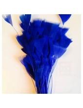 20 шт. Синий цвет. Цыпленок.  Кисточка 10-15 см