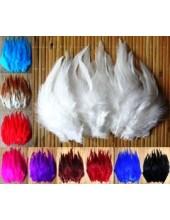 806. Перья петуха. Цветное 12-16 см