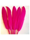 20 шт. Фуксия цвет. Перо петуха 8-14 см