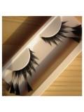 Ф-66.  Кисточка черный цвет. Ресницы из перьев птиц