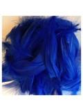 100 шт. Синий цвет. Гусиное перо 4-9 см. Плавающее