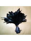 1 шт.Черный цвет.  Перо райской птицы