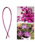 8 м. Розовый цвет. Цветная проволочка для цветов. № 24