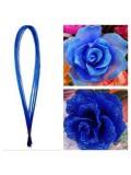 8 м. Синий цвет. Цветная проволочка для цветов. № 24
