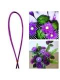 8 м. Фиолетовый цвет. Цветная проволочка для цветов. № 24