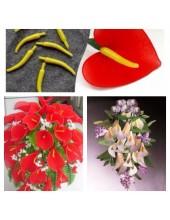 983. 1 шт. Пестики и тычинки в цветы. 5 см.