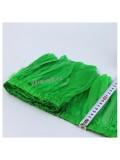 1 м.  Зеленый цвет. Тесьма. Перья петуха на ленте 14-19 см.