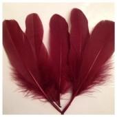 20 шт. Коричневый цвет. Перо Петуха 10-15 см
