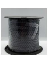 6 мм. 100 м. Черный цвет. Пайетки нить